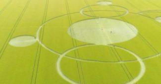 Un crop circle découvert dans un champ du Cher